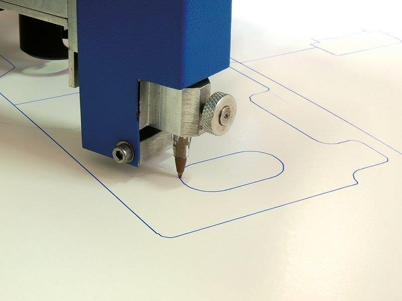 Plotter de corte mesa plana