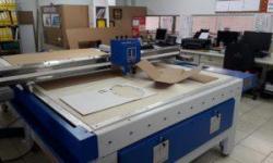 Instalação Mesa de Corte Modelo Jumbo 2500 – Norvinco – Al