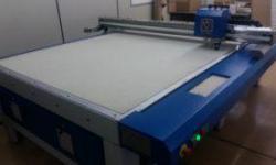 Instalação Mesa de Corte Modelo Jumbo 2500 – Primo Tedesco